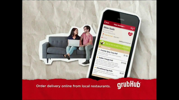 GrubHub TV Spot, 'Dressin' on the Side' - Thumbnail 9
