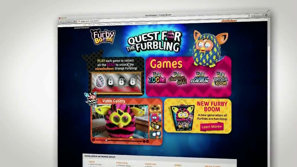 Furby Boom TV Spot, 'The Quest for the Furbling' - Screenshot 6