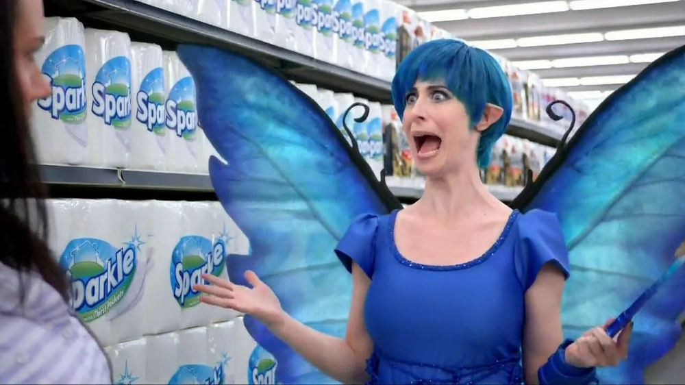 Sparkle Towels TV Spot, 'Fairy' - Screenshot 6