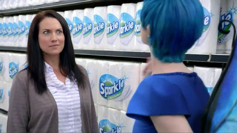 Sparkle Towels TV Spot, 'Fairy' - Screenshot 8