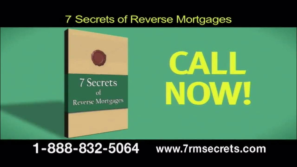 7 Secrets of Reverse Mortgages TV Spot - Screenshot 1