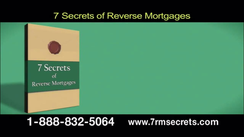 7 Secrets of Reverse Mortgages TV Spot - Screenshot 2