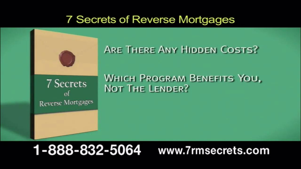 7 Secrets of Reverse Mortgages TV Spot - Screenshot 4