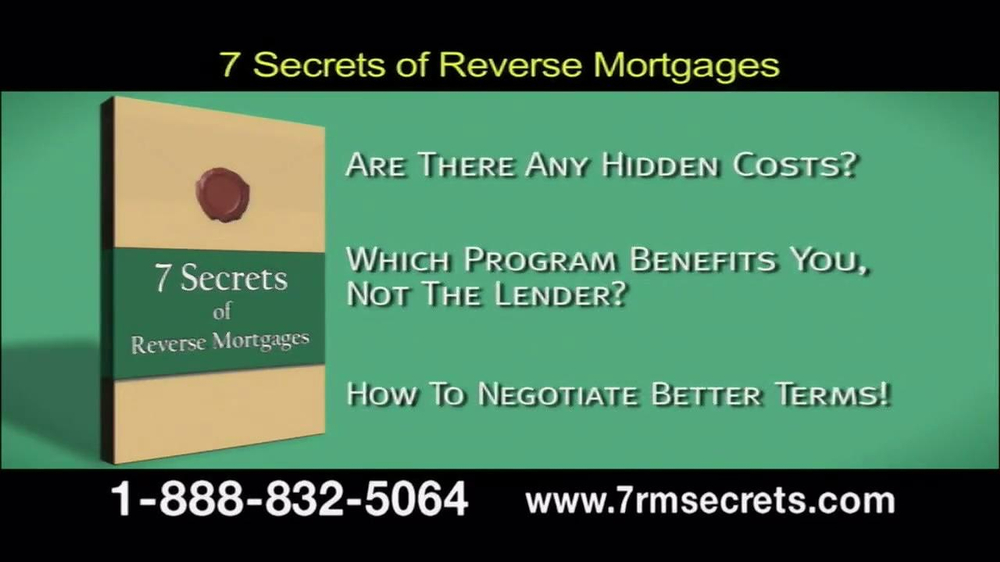 7 Secrets of Reverse Mortgages TV Spot - Screenshot 6