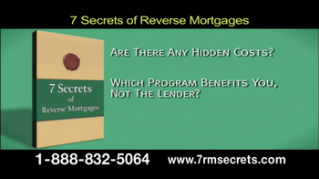 7 Secrets of Reverse Mortgages TV Spot - Thumbnail 5