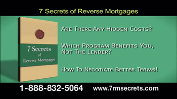 7 Secrets of Reverse Mortgages TV Spot - Thumbnail 6