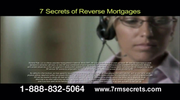 7 Secrets of Reverse Mortgages TV Spot - Thumbnail 7