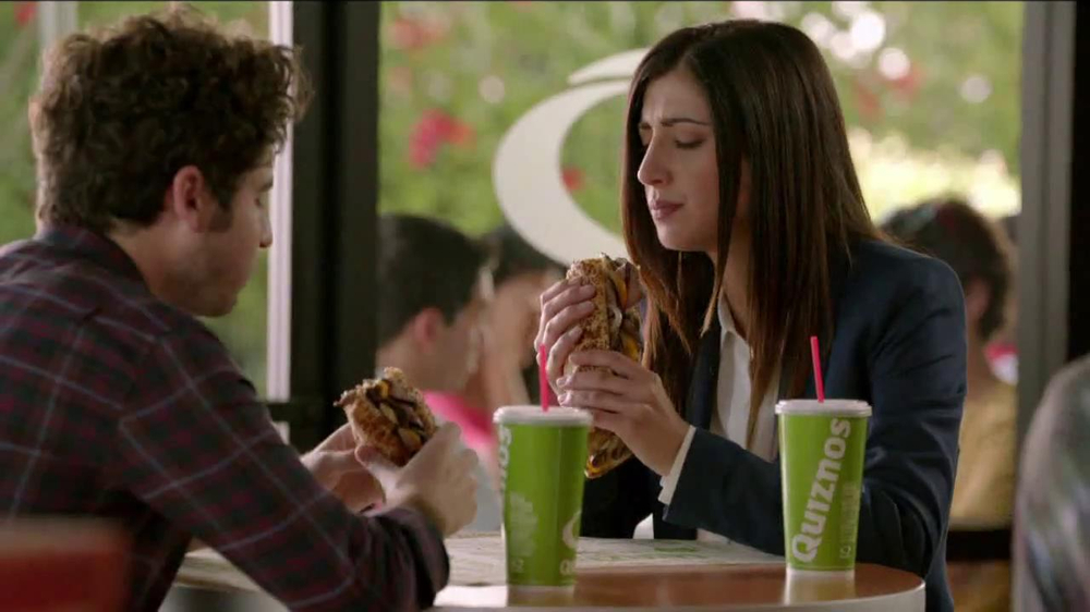 Quiznos Bourbon Steak Sub TV Spot, 'Floasted' - Screenshot 1