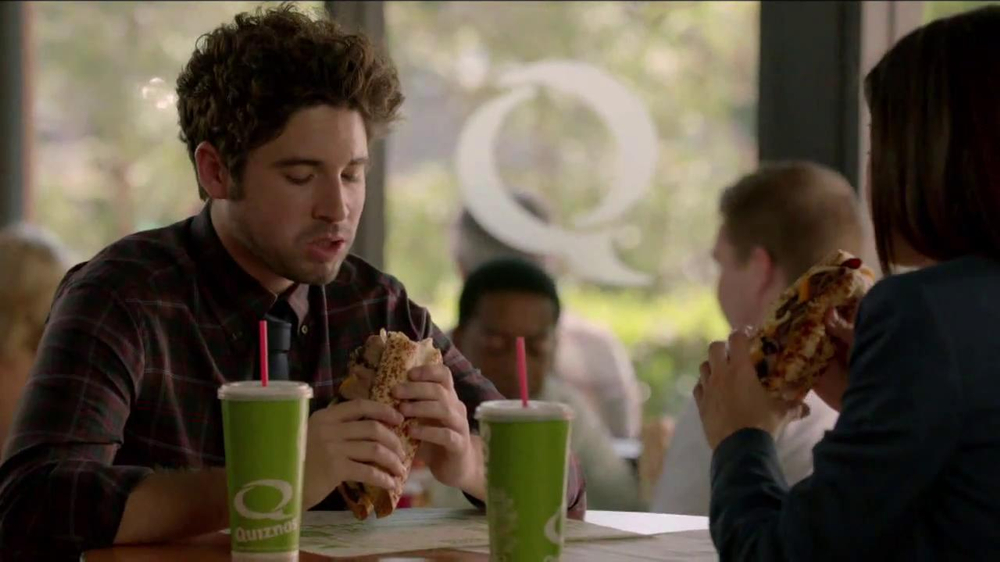 Quiznos Bourbon Steak Sub TV Spot, 'Floasted' - Screenshot 2