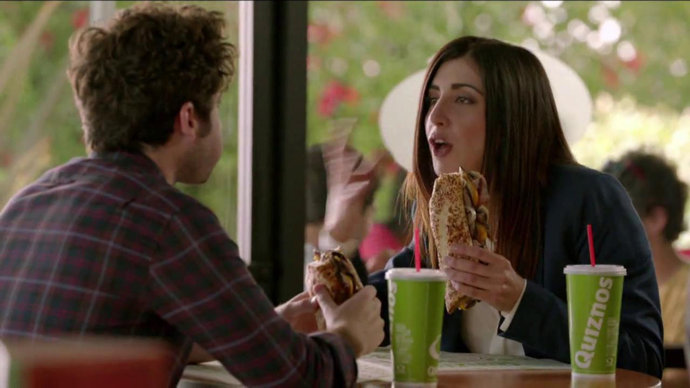 Quiznos Bourbon Steak Sub TV Spot, 'Floasted' - Screenshot 5