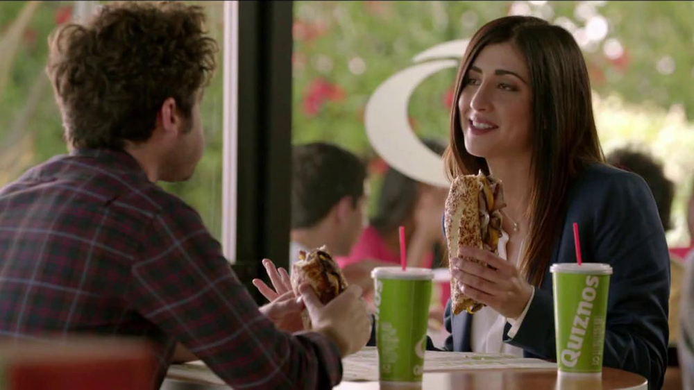 Quiznos Bourbon Steak Sub TV Spot, 'Floasted' - Screenshot 6