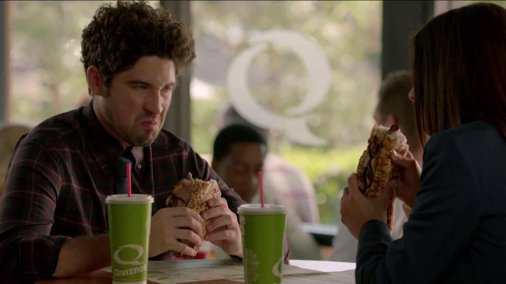 Quiznos Bourbon Steak Sub TV Spot, 'Floasted' - Screenshot 7
