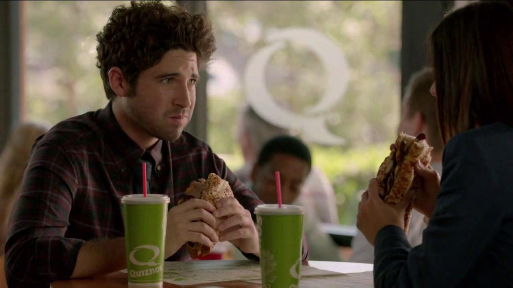 Quiznos Bourbon Steak Sub TV Spot, 'Floasted' - Screenshot 9