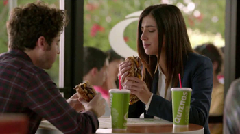 Quiznos Bourbon Steak Sub TV Spot, 'Floasted' - Thumbnail 1