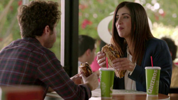 Quiznos Bourbon Steak Sub TV Spot, 'Floasted' - Thumbnail 4