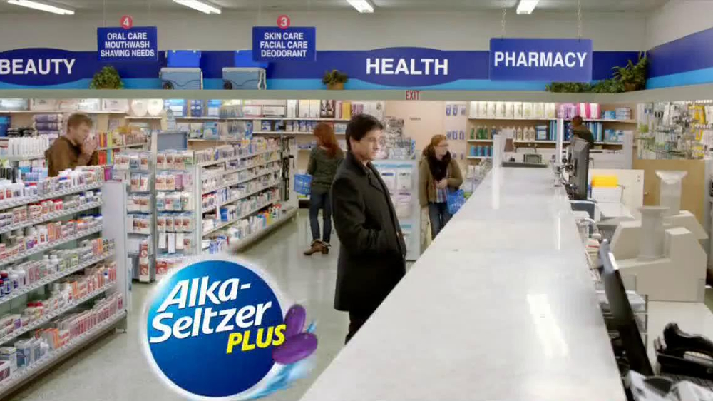 Alka-Seltzer Plus-D TV Spot, 'Big Date' - Screenshot 1