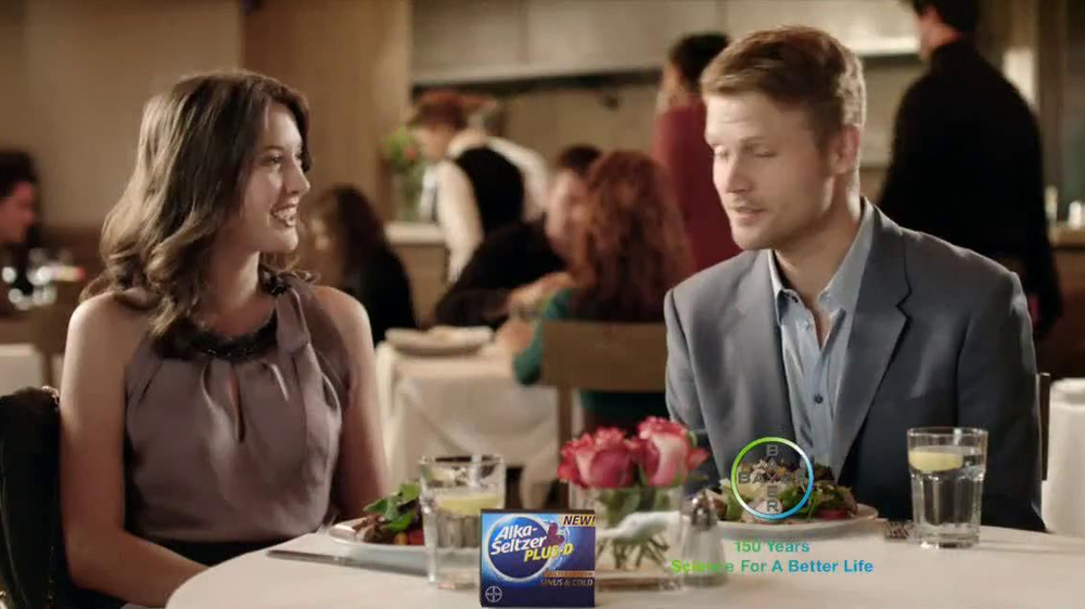 Alka-Seltzer Plus-D TV Spot, 'Big Date' - Screenshot 10
