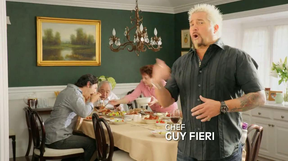Rolaids TV Spot, 'Spicy Meat Sauce' Featuring Guy Fieri - Screenshot 1