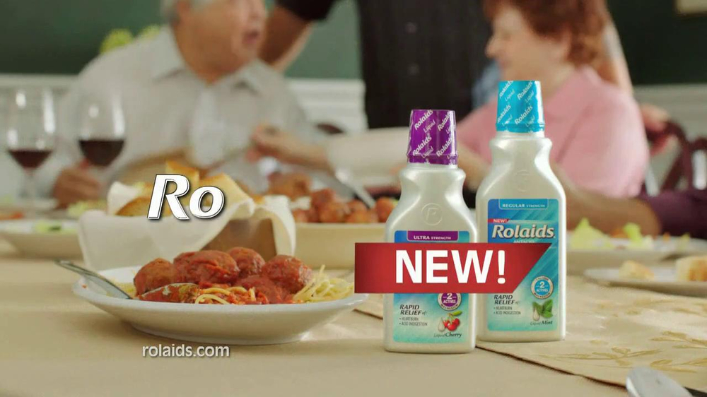 Rolaids TV Spot, 'Spicy Meat Sauce' Featuring Guy Fieri - Screenshot 10