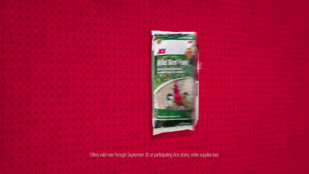 ACE Hardware TV Spot, 'Bird Food and Air Filters' - Screenshot 4