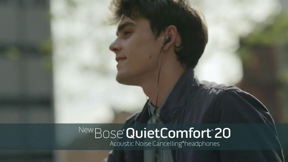 Bose QuietComfort 20 TV Spot, Song by Leagues - Screenshot 7