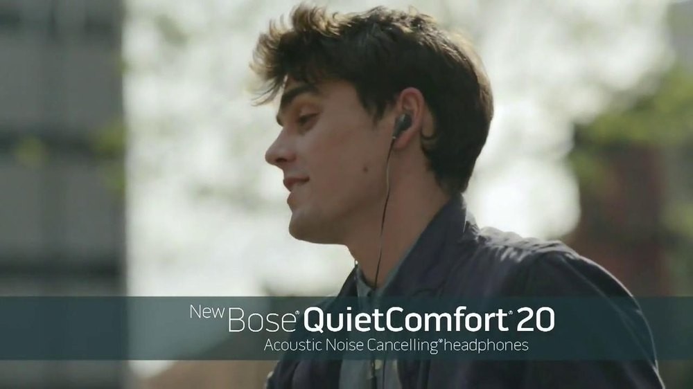 Bose QuietComfort 20 TV Spot, Song by Leagues - Screenshot 8