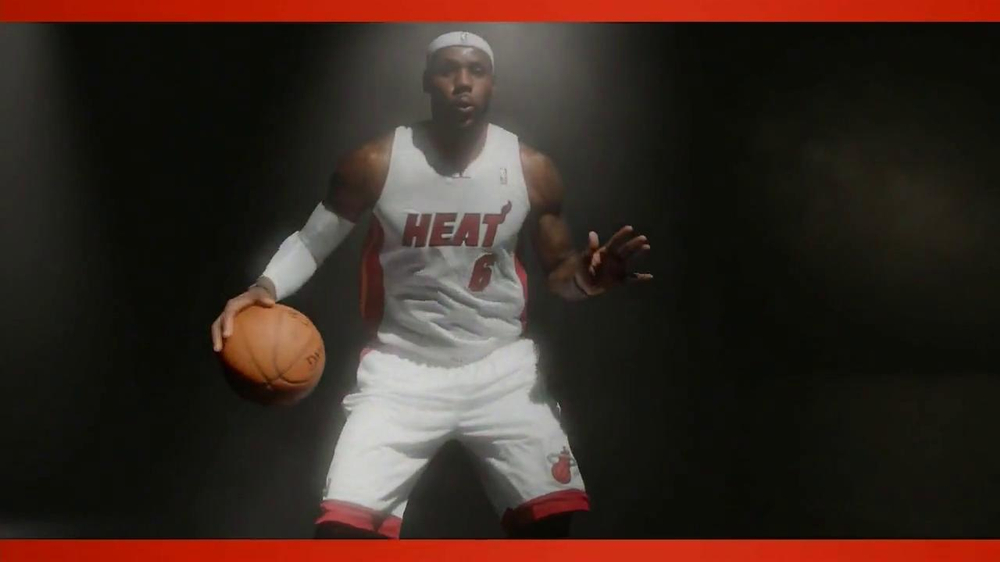 NBA 2K14 TV Spot Featuring LeBron James, Song by KRS-One - Screenshot 2