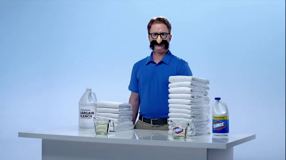 Clorox Clorox Concentrated Bleach TV Commercial 'Twice as ...