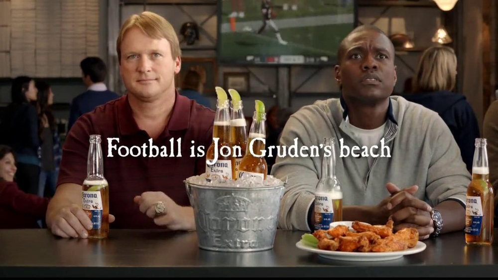 Corona Extra TV Spot Featuring Jon Gruden - Screenshot 10