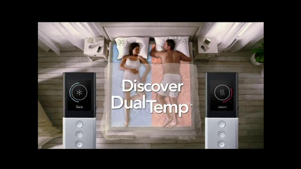 Sleep Number Dual Temp TV Spot, 'Too Hot or Too Cool' - Screenshot 4