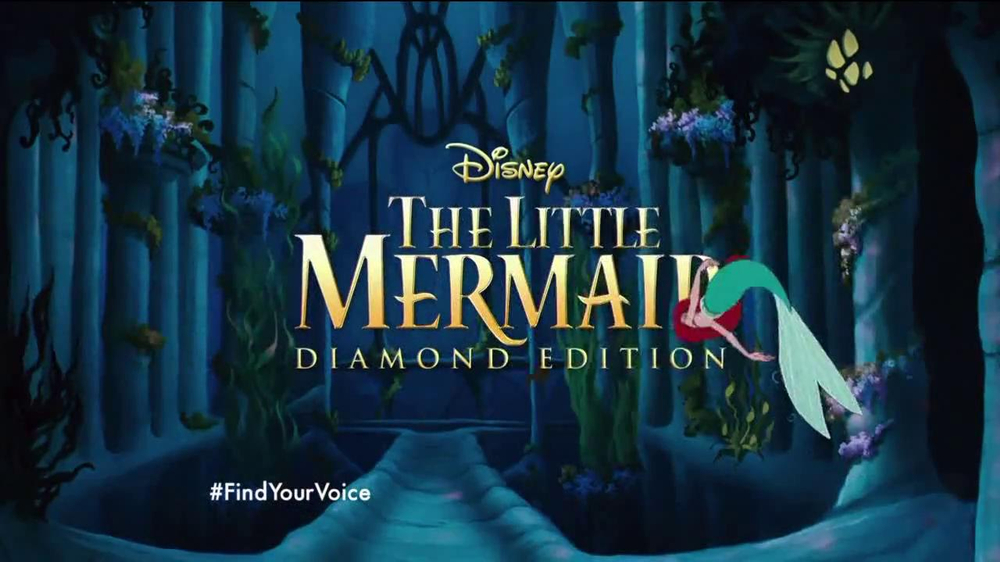 The Little Mermaid Blu-ray and Digital HD TV Spot - Screenshot 2