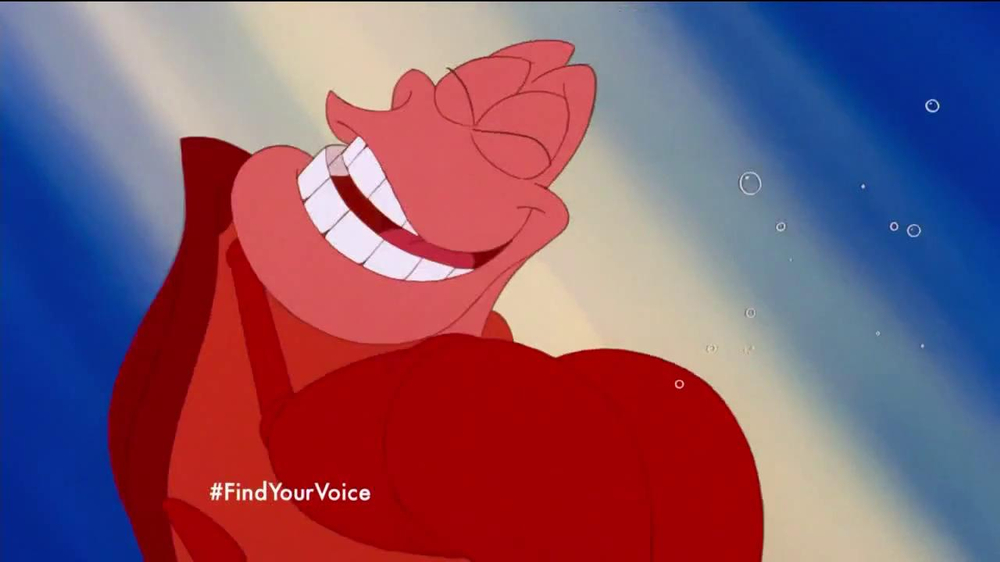 The Little Mermaid Blu-ray and Digital HD TV Spot - Screenshot 6