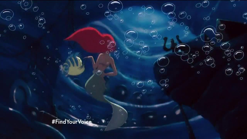 The Little Mermaid Blu-ray and Digital HD TV Spot - Screenshot 7