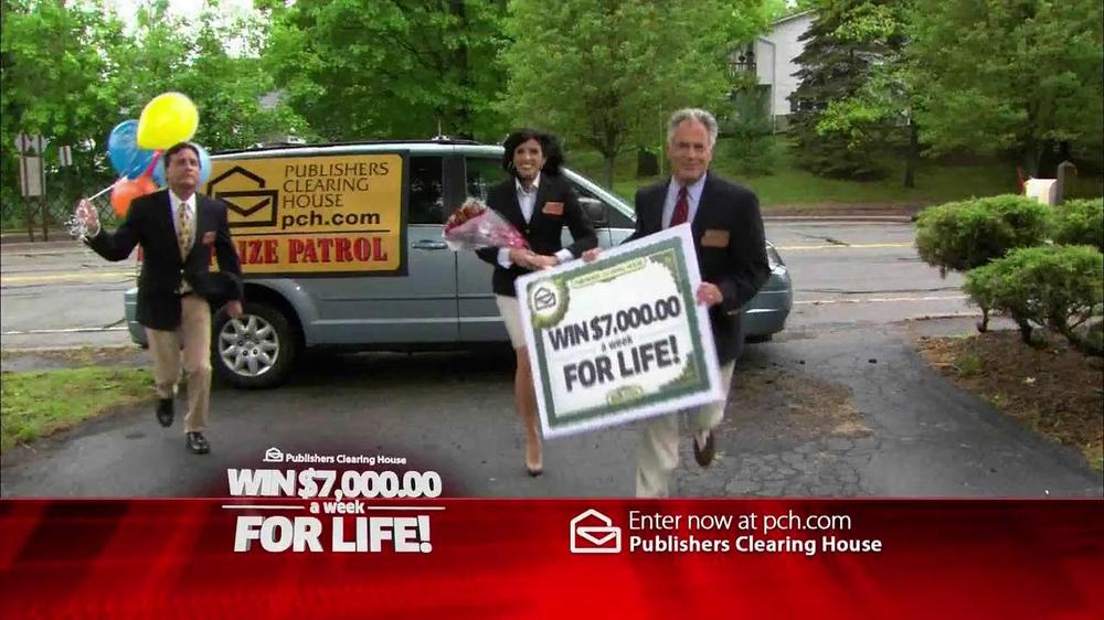Publishers Clearinghouse TV Spot, '$7000 a Week' - Screenshot 1