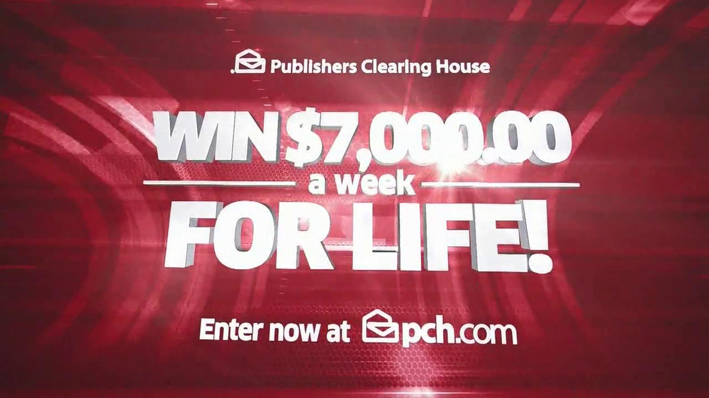 Publishers Clearinghouse TV Spot, '$7000 a Week' - Screenshot 10