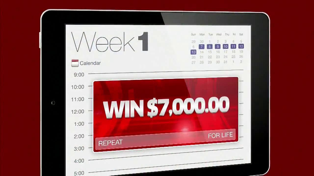 Publishers Clearinghouse TV Spot, '$7000 a Week' - Screenshot 2