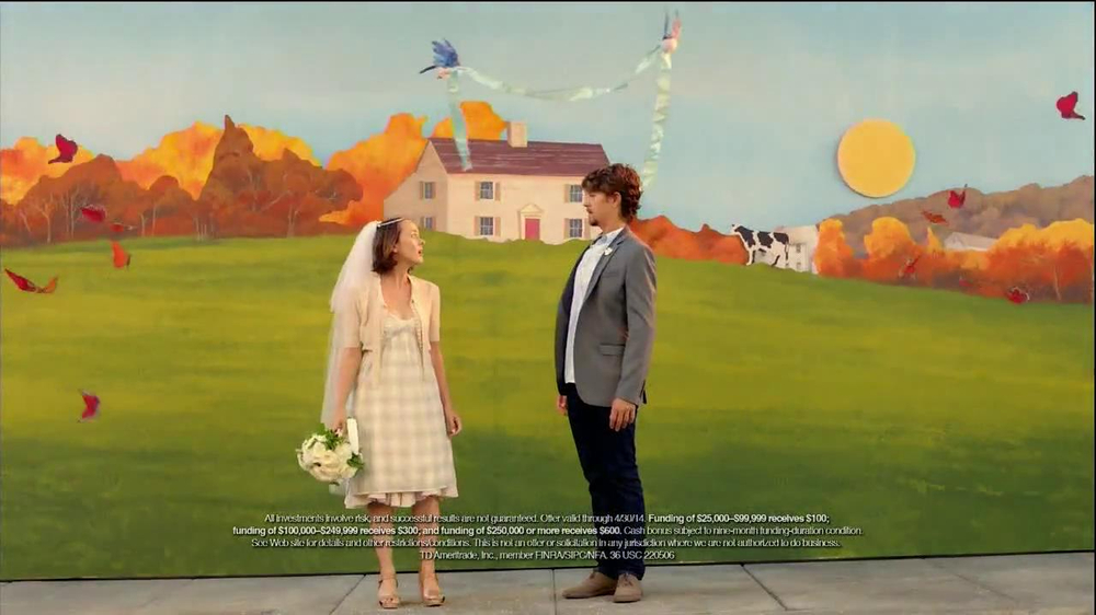 TD Ameritrade TV Spot, 'Wedding' - Screenshot 9