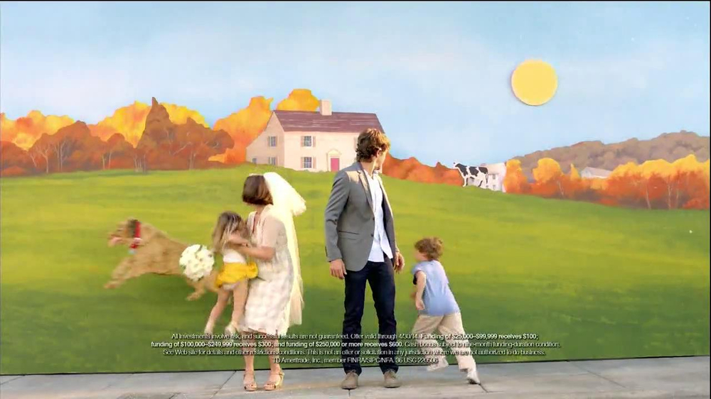 TD Ameritrade TV Spot, 'Wedding' - Screenshot 7