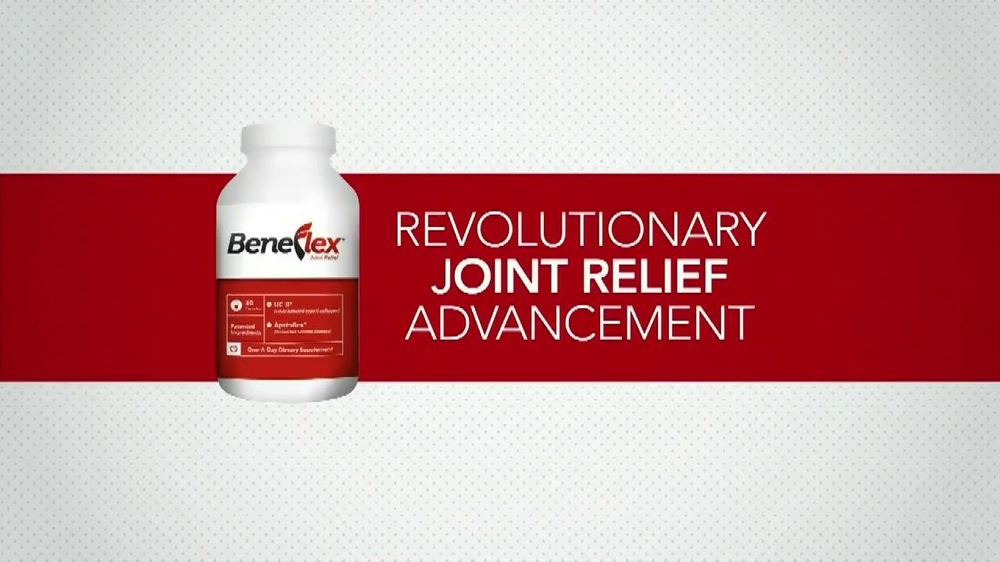 Beneflex TV Spot, 'Joint Discomfort' - Screenshot 2