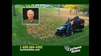 Cyclone Rake Cyclone Rake Lawn Vacuum TV Spot