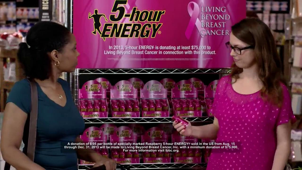 5 Hour Energy Raspberry TV Spot, 'Good Deeds' - Screenshot 6
