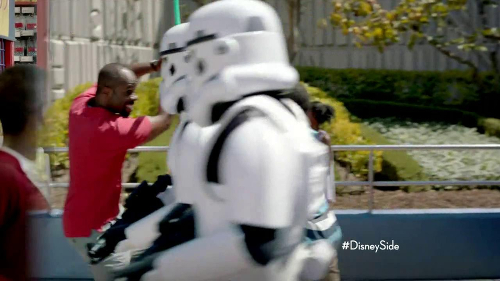 Disney Parks TV Spot, 'Show Your Disney Side: I Am Your Father' - Screenshot 9