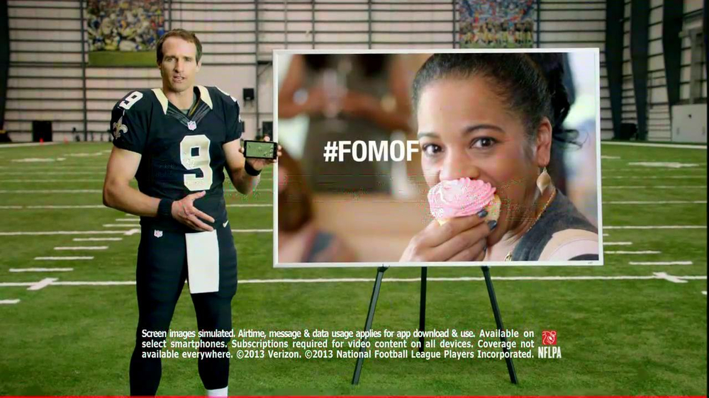 NFL Mobile TV Spot, 'Baby Shower' Featuring Drew Brees - Screenshot 10