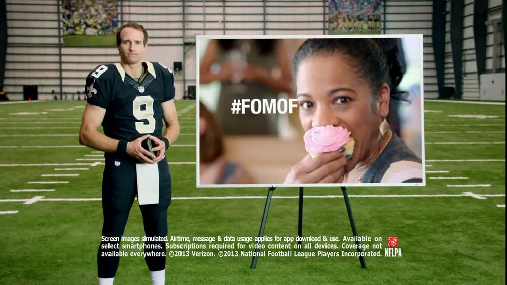NFL Mobile TV Spot, 'Baby Shower' Featuring Drew Brees - Screenshot 8