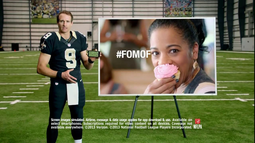 NFL Mobile TV Spot, 'Baby Shower' Featuring Drew Brees - Screenshot 9
