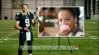 NFL Mobile TV Spot, 'Baby Shower' Featuring Drew Brees - Thumbnail 10
