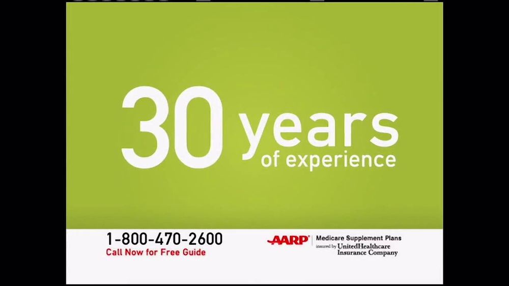UnitedHealthcare AARP Medicare Supplement Plans TV Spot ...