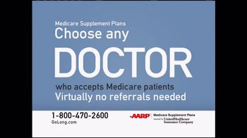 UnitedHealthcareAARP Medicare Supplement Plans TV Spot ...