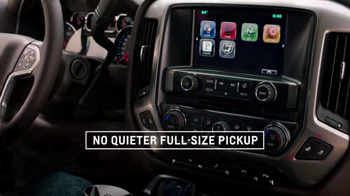 2014 Chevrolet Silverado TV Spot, 'Quiet Cab' - Thumbnail 5