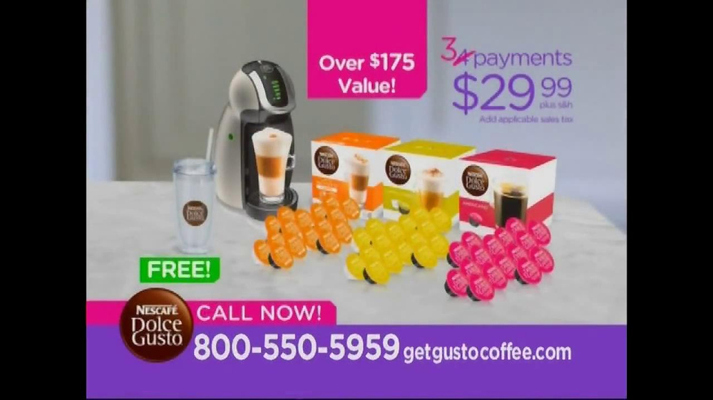 Nescafe Dolce Gusto TV Spot Featuring Mario Lopez - Screenshot 8